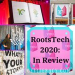 Image for the Tweet beginning: Remembering #RootsTech tonight w/my final