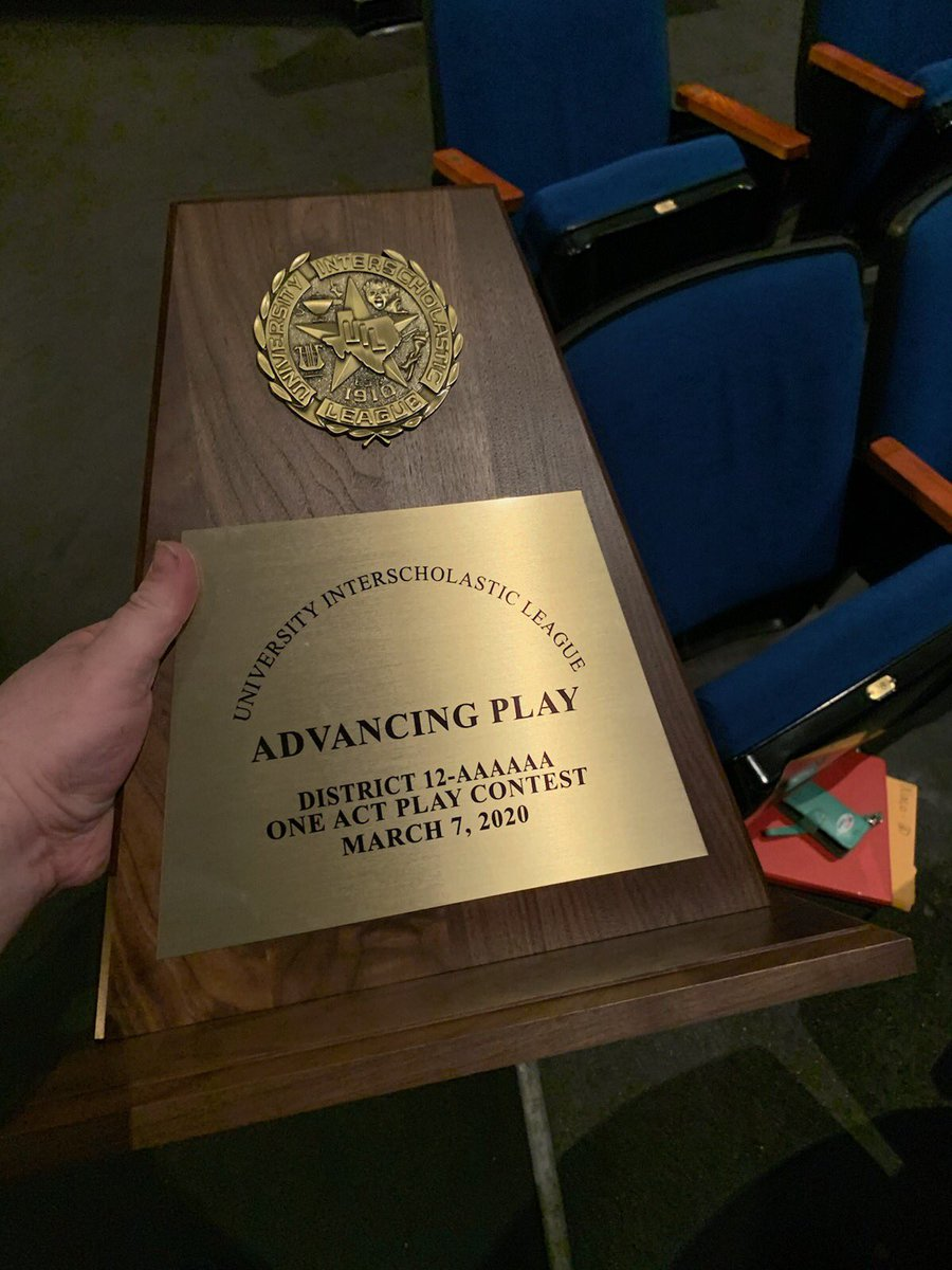 Waco High's One Act Play is advancing to bi-district! #LionPrideRunsDeep!