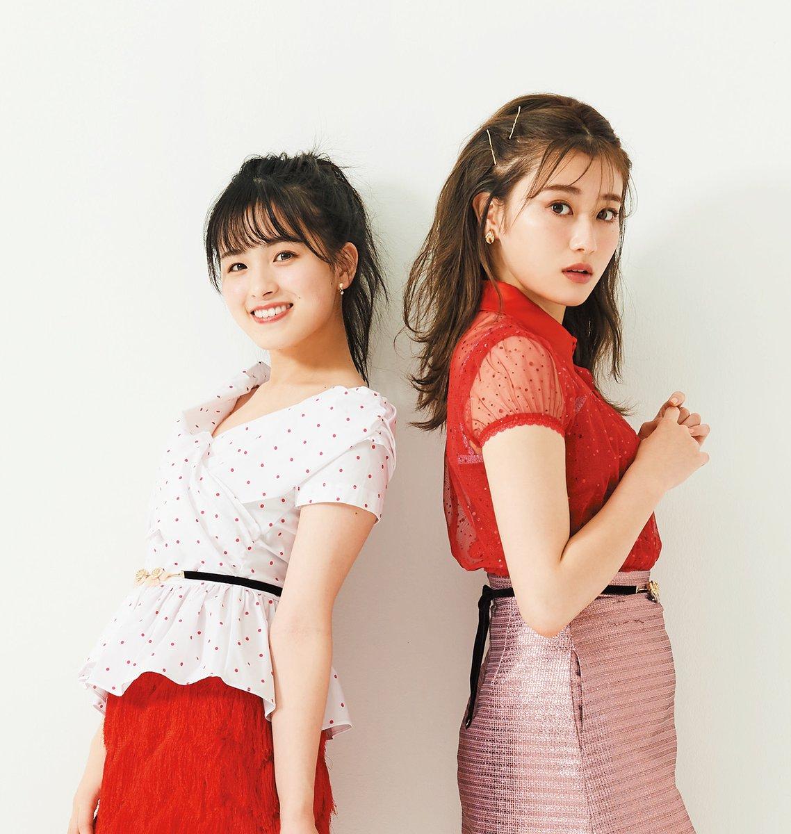 欅坂46の守屋茜さんと乃木坂46の大園桃子さん