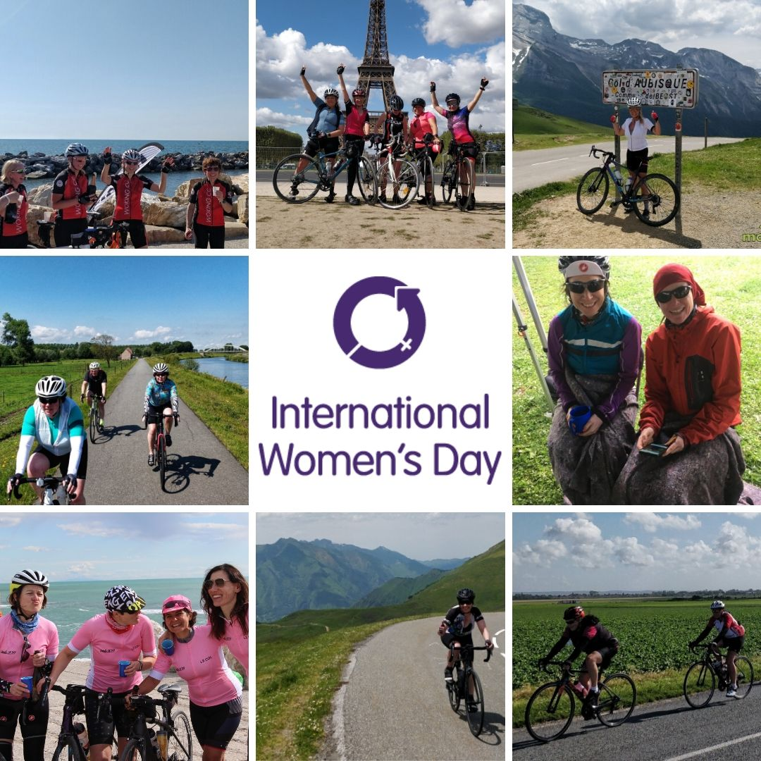 Happy #InternationalWomensDay! Here are just a few of the amazing women who had adventures with us in 2019 on two wheels!  #IWD #IWD2020 #w4w #women #strongwomen #cycling #cyclinglife @internationalwomensday_global #womensday #EachforEqual #seeher #cyclingwomen pic.twitter.com/nGVjXepkkq