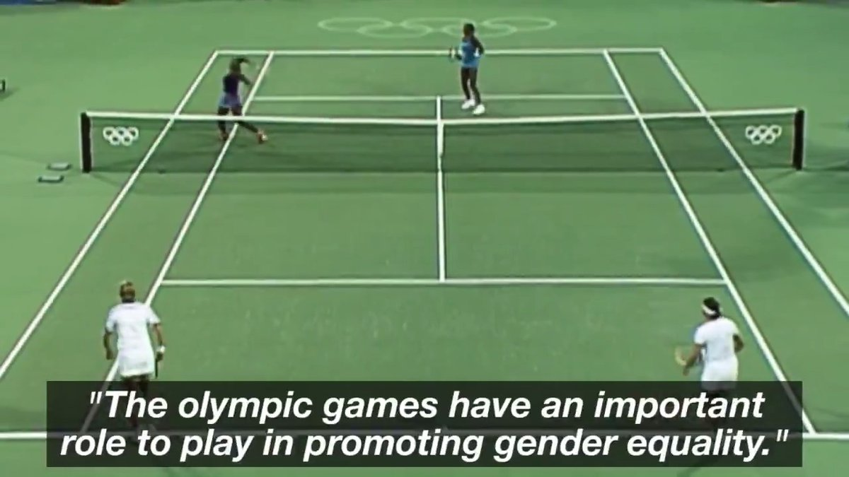 Andy Murray on the important role of the @Olympics in promoting gender equality. https://t.co/8sqDSuRFle  @Andy_Murray #WomensDay #IWD2020 @ITF_Tennis @TeamGB #GenerationEquality https://t.co/b42vHfdw5R