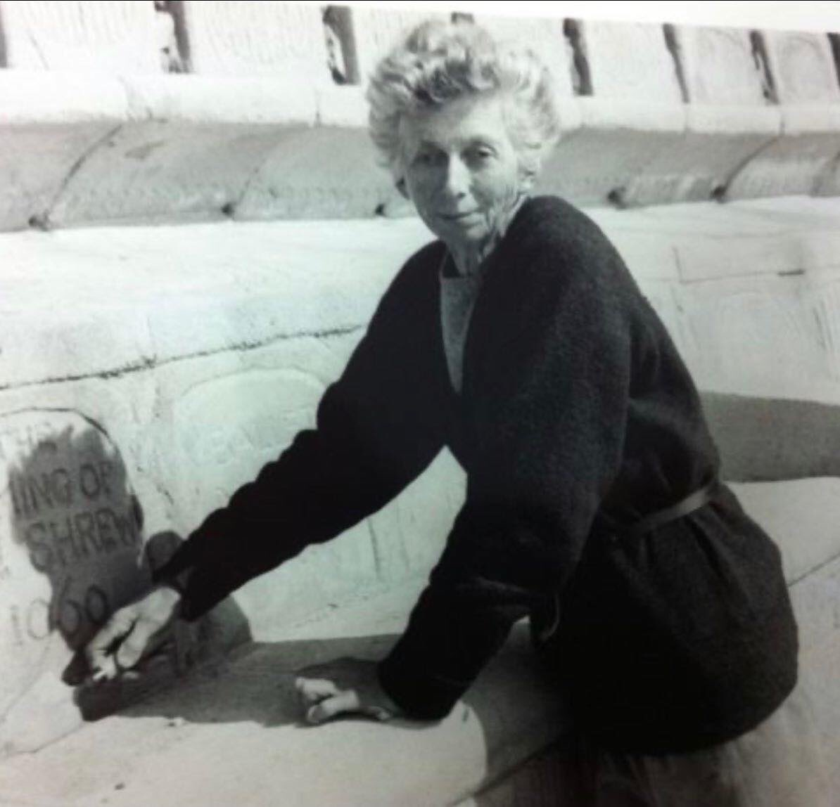 """Minack on Twitter: """"Remembering Rowena Cade who conceived and created our  beautiful theatre with her own hands! #IWD2020… """""""