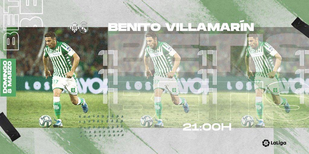 Domingo de fútbol. Juntos podemos. Mucho @RealBetis 💚👏
