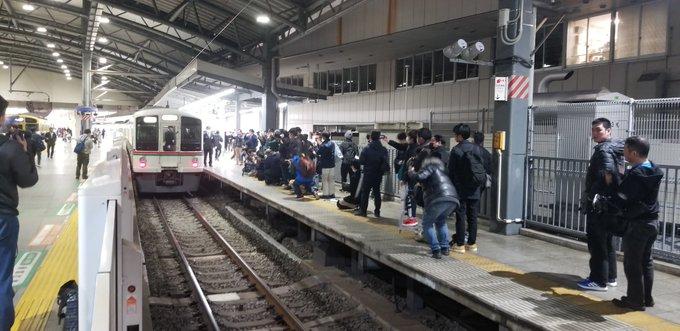 西武4000系ラストラン 池袋駅入線を廃止