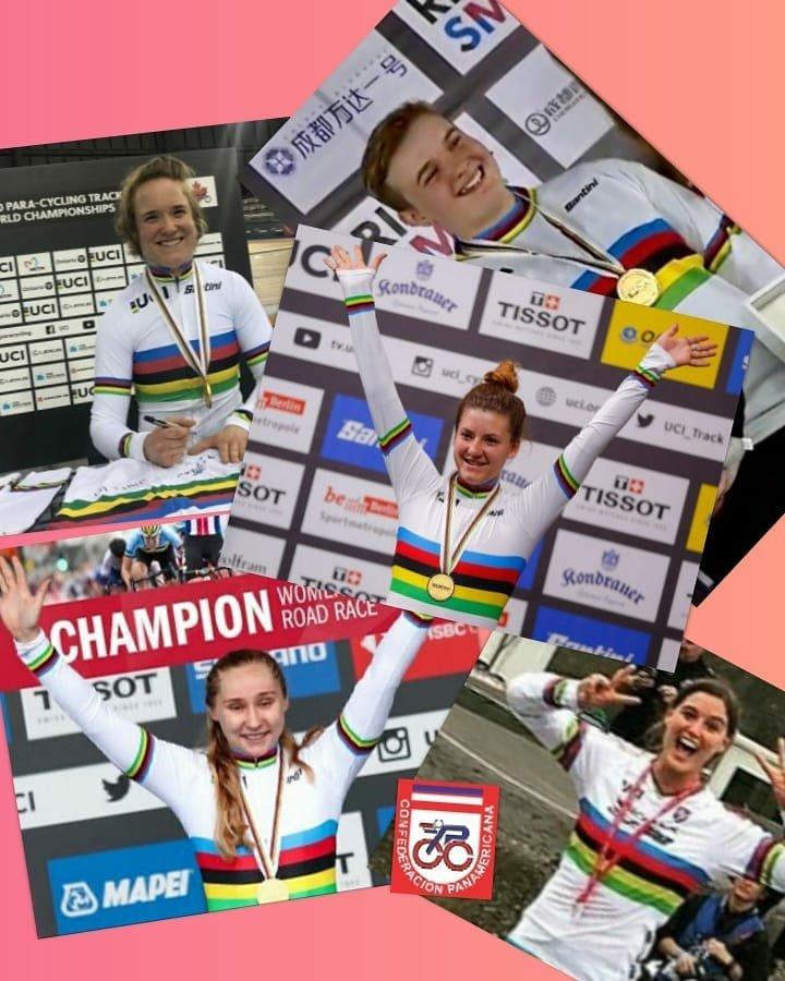 Felicitamos a todas las mujeres en su dia.  #DiaInternacionalDeLaMujer   We congratulate all women in their day.  #InternationalWomensDay  #ciclismo #cycling #copaci2020 #ciclismofemenino #cyclingwomen pic.twitter.com/XfWKSi3l2S