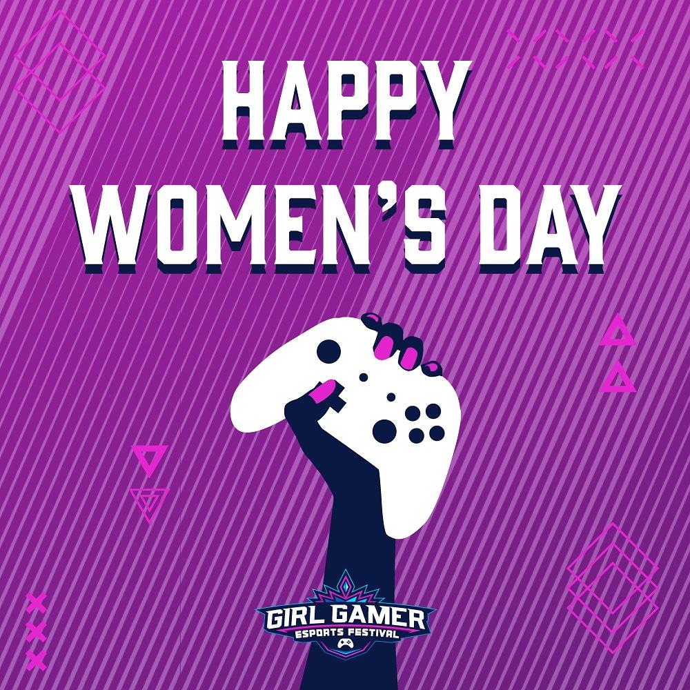 Tag the women that inspire you in gaming! 💙💜 Happy Women's day! #girlgamer #girlgamerfest #womendays #InternationalWomensDay #DiaInternacionalDeLaMujer #DiaDeLaMujer #InternationalWomenDay2020 https://t.co/uFrXX0rCtv