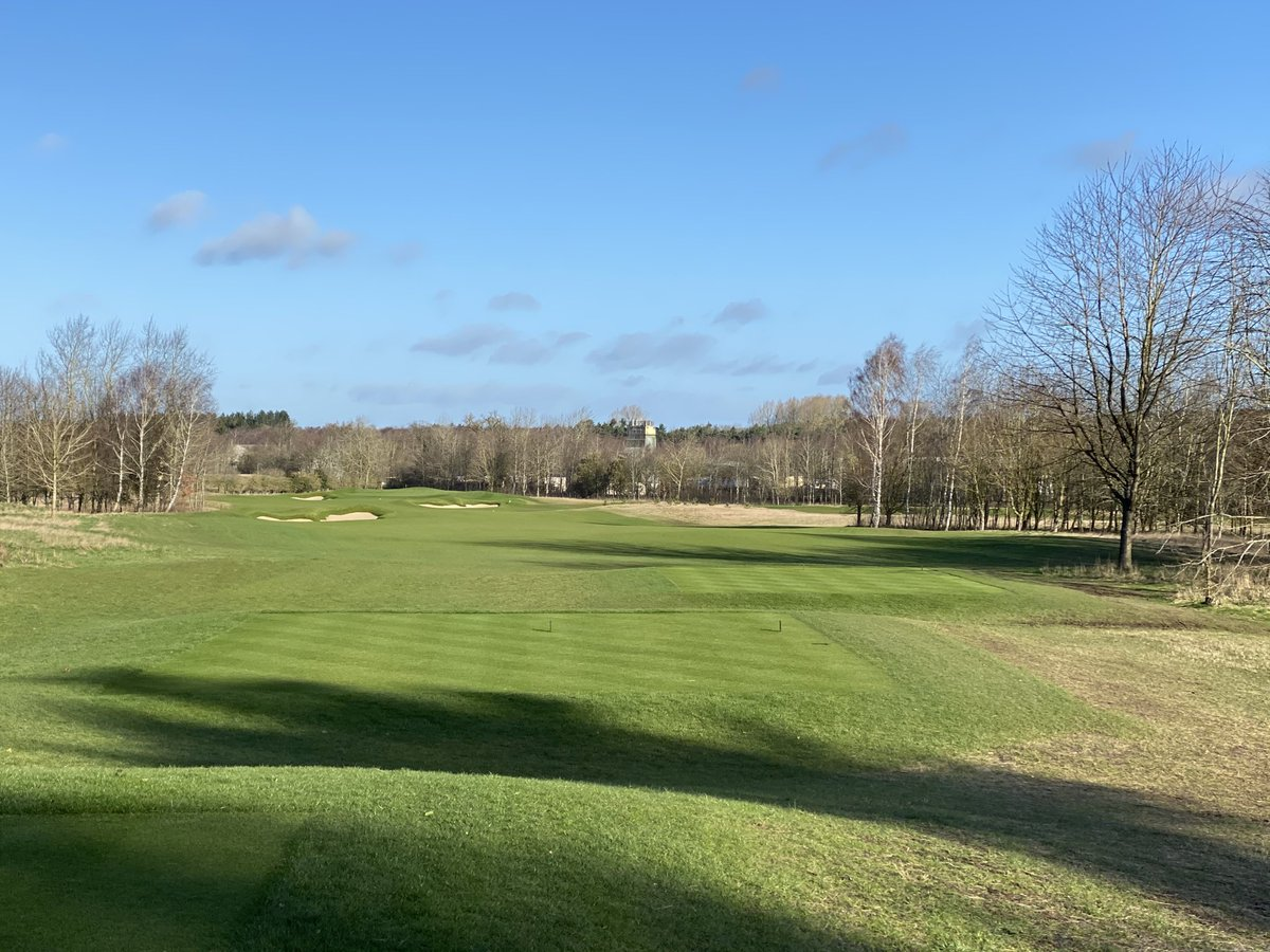 A terrific early Sunday morning round today playing ⁦@Royal_Norwich⁩. 😁🏌️‍♂️🌤