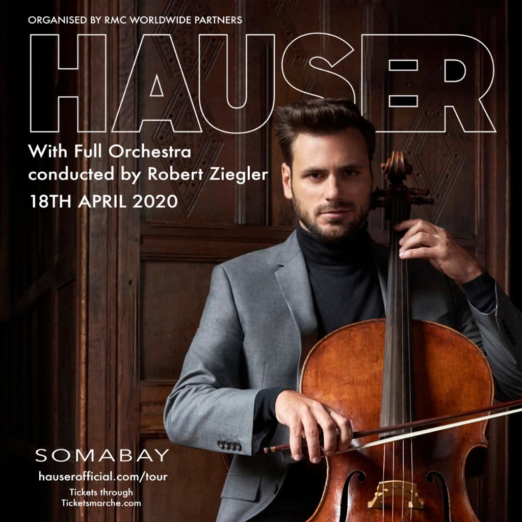 Indulge in the charm of the classical era with HAUSER full orchestral show on 18th of April 2020 in Soma bay, Book your vacation & get 2 TKT with special rate 4150 LE per double room on half board basis Promo code #Easterscape  Email : Reservations.01127@marriott.com https://t.co/Kp6sKEOHwv