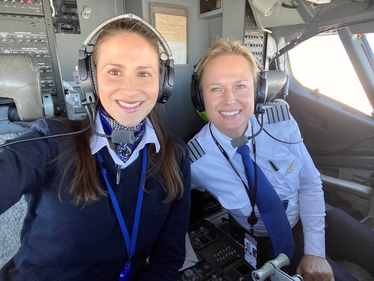 Sas Scandinavian Airlines On Twitter Happy Internationalwomensday To Mark This Day And Encourage Women To Pursue Careers Within Aviation Sas Flew Two Routes With All Female Crew Here Is Sas Commander