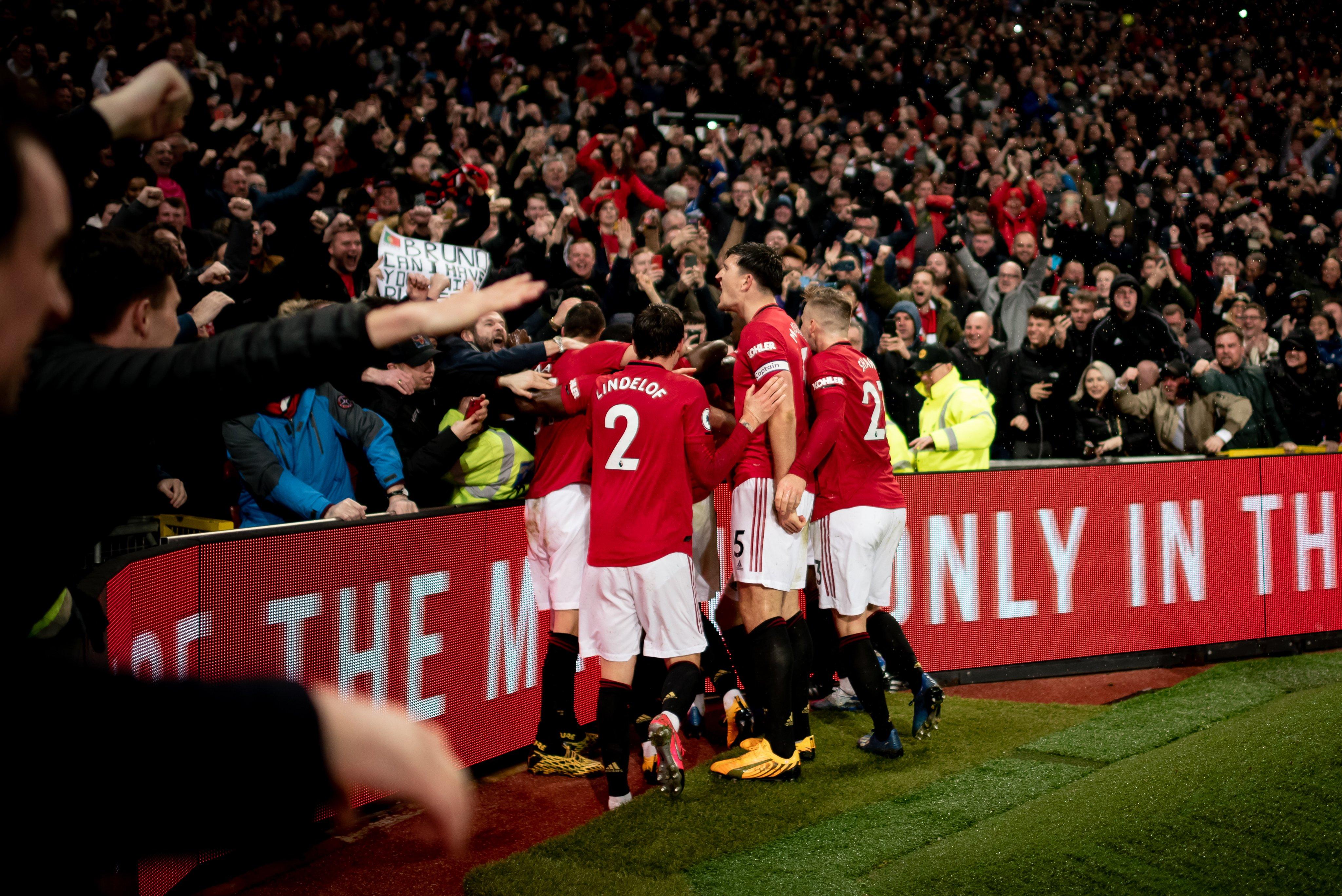 Манчестер Юнайтед - Манчестер Сити 2:0