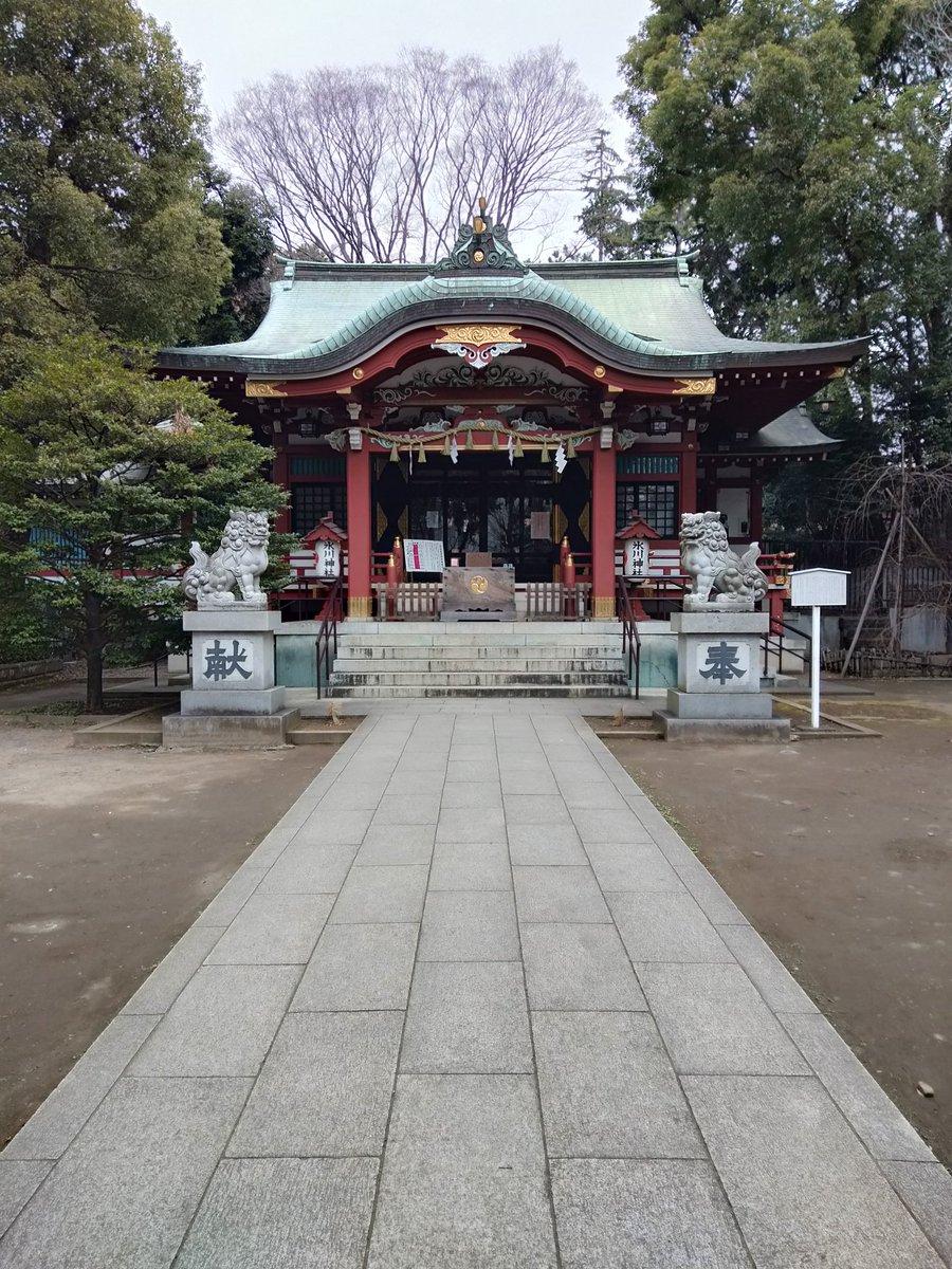 中野氷川神社 御朱印