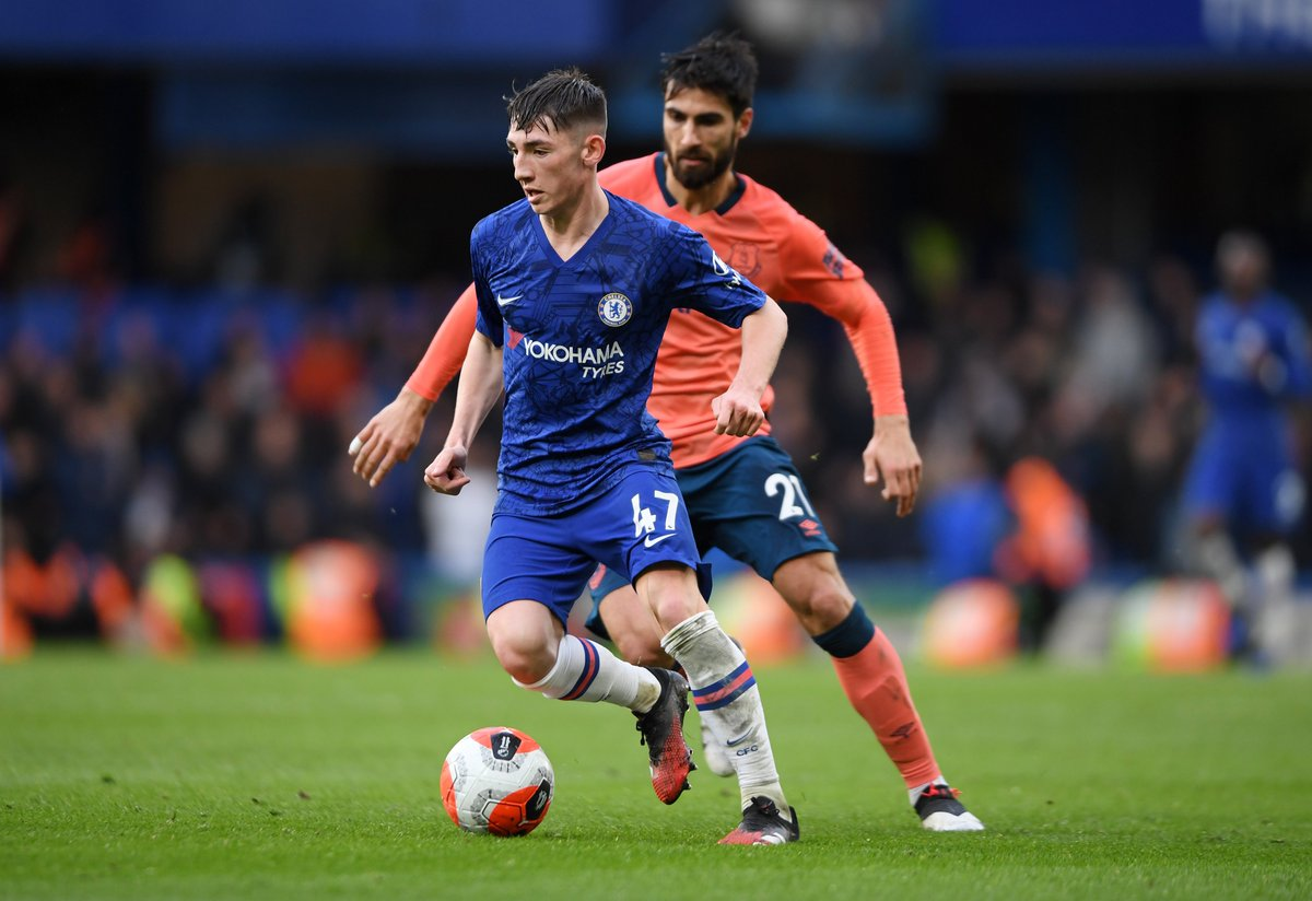 74 - Billy Gilmour completed more passes than any other player in Chelseas 4-0 win over Everton. Assured. #CHEEVE