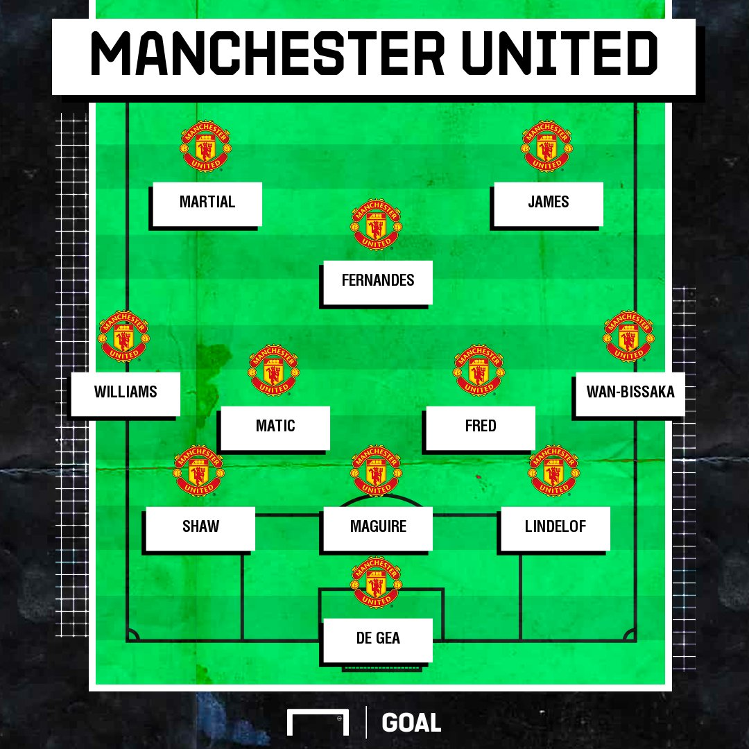 "Goal Indonesia S Tweet ""Susunan Pemain Manchester United"