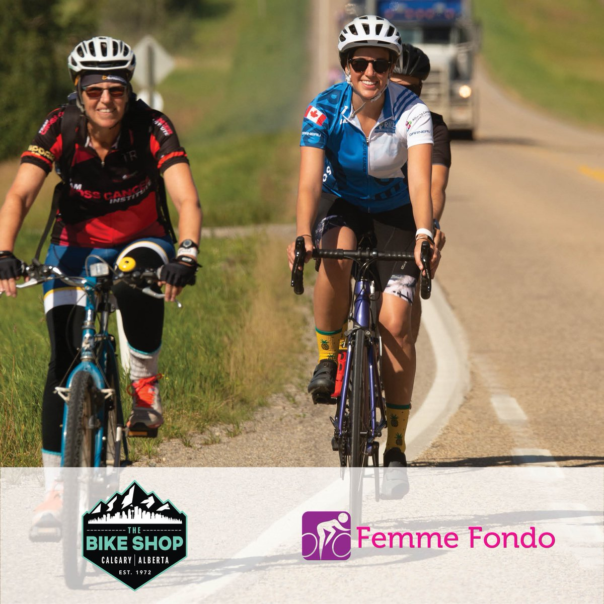 This #InternationalWomensDay, we are excited to launch Femme Fondo! An initiative that aims to connect & support women interested in the @TheAlbertaRide Register for our upcoming event on March 31st in collaboration with @thebikeshopyyc-https://t.co/h91uiicS7z #FemmeFondo https://t.co/T5STMmpnPw