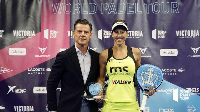 Marta Marrero, MVP del Marbella Master. | Foto: World Padel Tour