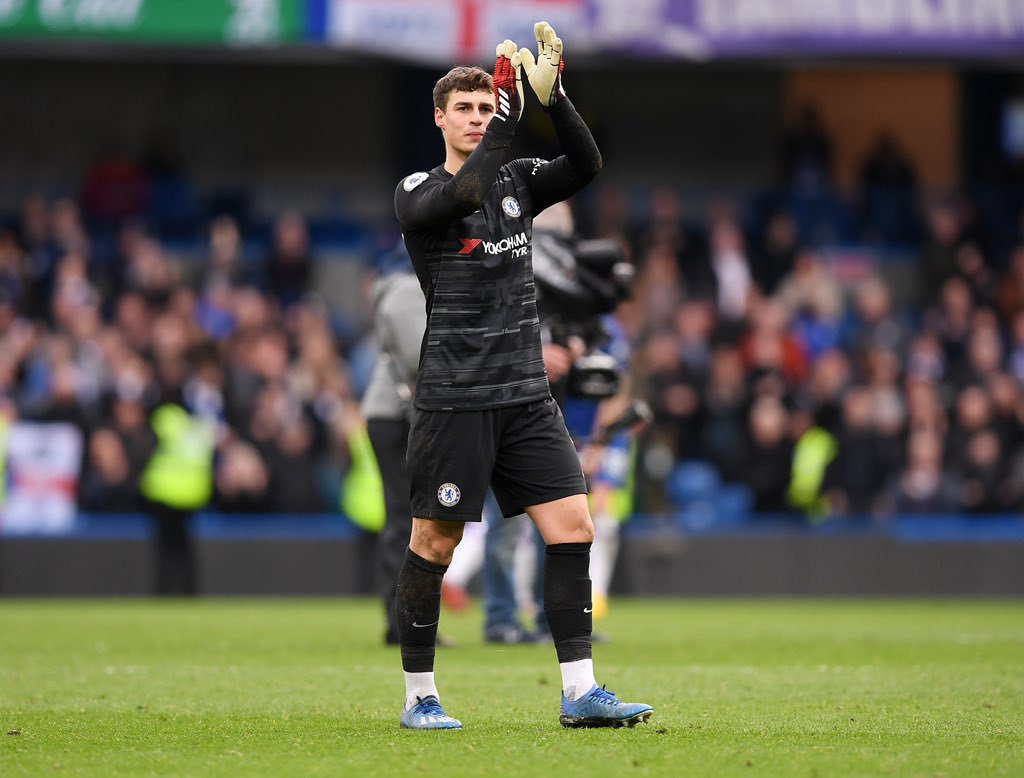 3 important points and clean sheet!  We keep pushing! Come on @chelseafc