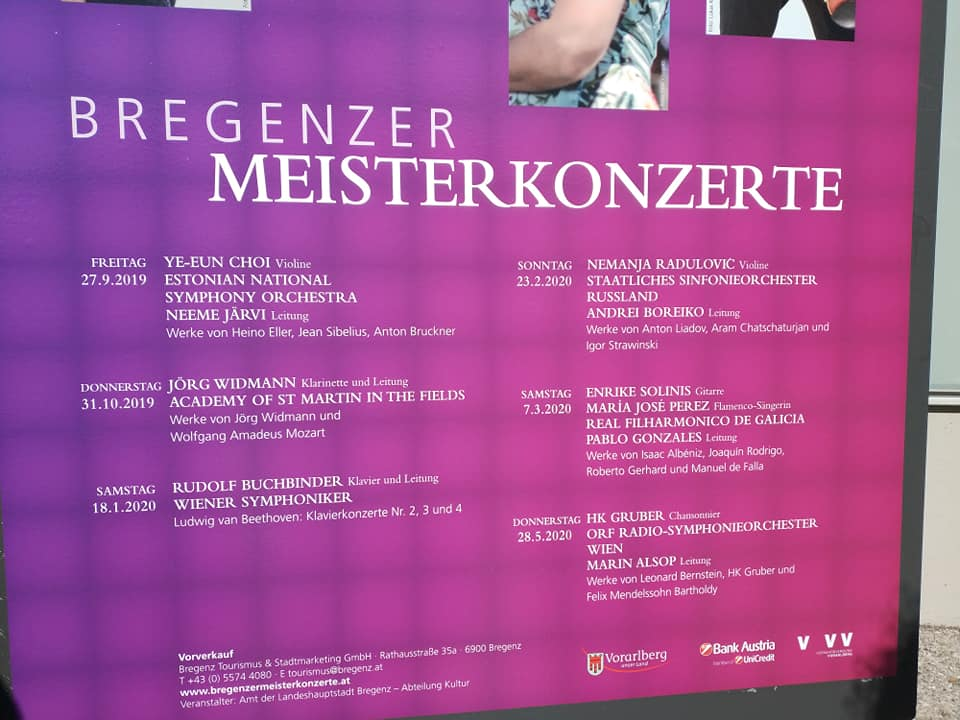 🙋Ata a próxima, Austria🎊🎉🎊🇦🇹. Grazas pola calorosa acollida ao público de Salzburgo e Bregenz👨👨👧👦👨❤️👨👩👩👦👩👩👧👧👩👦👦👩👧👧🧑🤝🧑👬👭 Grazas especiais a Pablo González @pgconductor 💘💘💘💘 @enrikesolinis 🎸🪕e María José Pérez 💃💃polo seu extraordinario traballo. https://t.co/z6VGDUHcGD