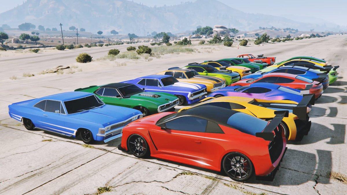 "CONE 11 on Twitter: ""GTA 5 Online: MUSCLE CAR WHEELIE VS ELECTRIC CAR  (WHICH IS FASTEST?) #gta5 #gtaonline #muscle #electric #cone11  https://t.co/uUnQuLlklD… https://t.co/T4OkqrFCD0"""
