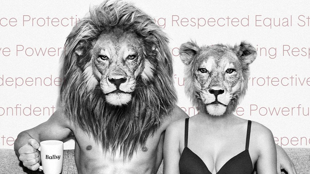 """We believe in the power of equality, and we all should have a role in creating a more equal world. To stand by our belief in total equality, we want to reintroduce our """"Mane Man,"""" and introduce his counterpart, the Lioness. #eachforequal #internationalwomensday #sharethelionlight https://t.co/91xwb6GXHC"""