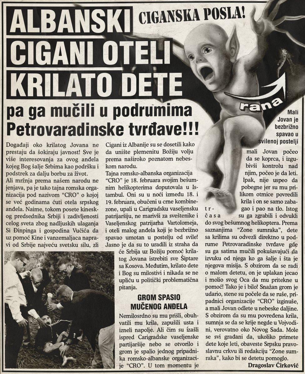 Albanski cigani oteli krilato dete pa ga mučili u podrumima Petrovaradinske tvrđave