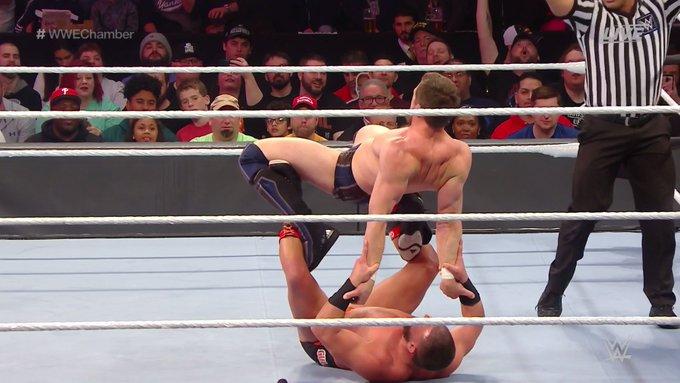 Drew Gulak tem grande performance no WWE Elimination Chamber