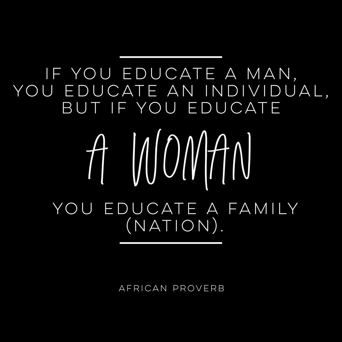 Education is a gateway to broadening perceptions, fighting stereotypes, and creating parity in this world. Celebrating all of the women who have made an indelible impact on my life on #InternationalWomensDay and everyday. #EachforEqual #IWD2020 https://t.co/PFDwX5Ippl