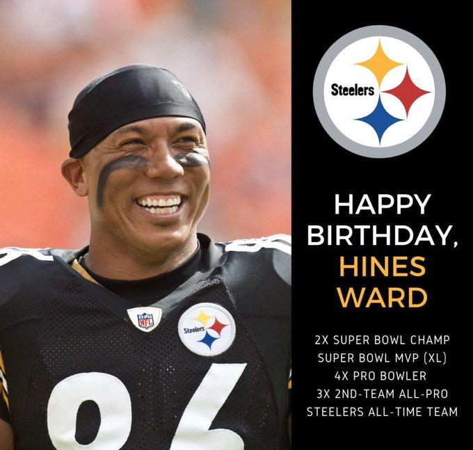 Happy Birthday Hines Ward