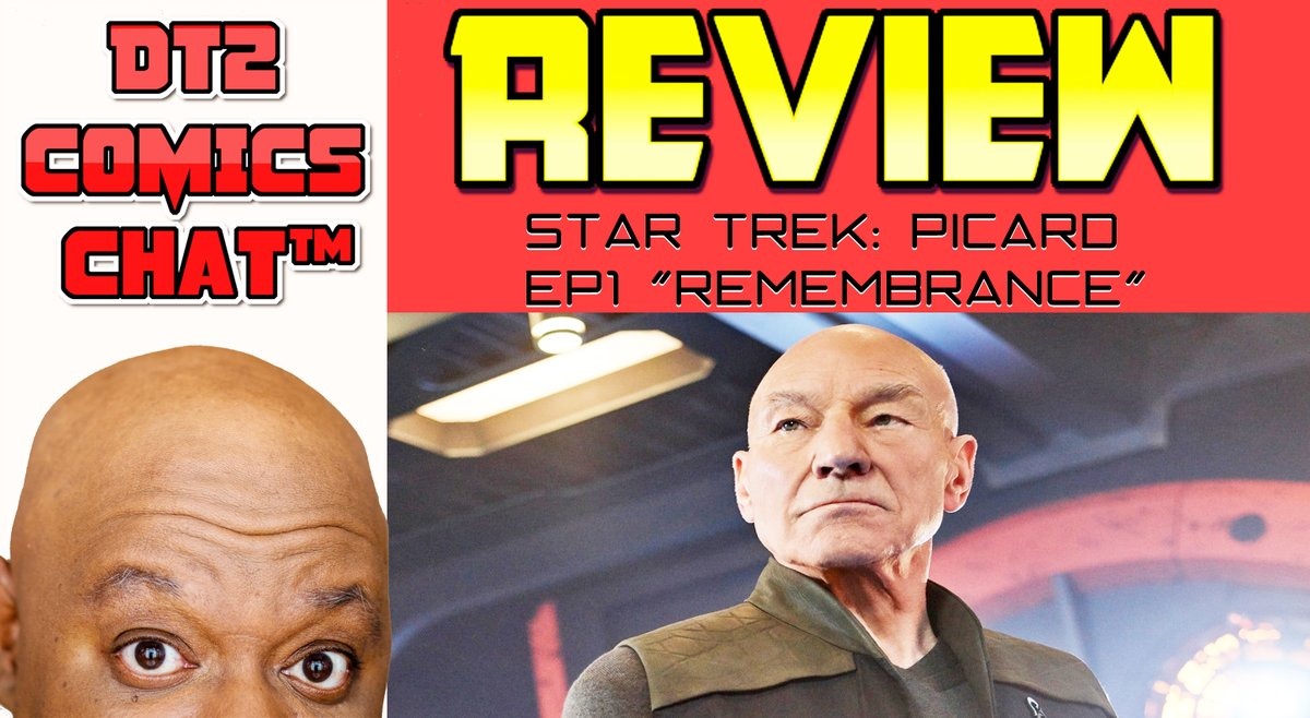 "#StarTrek #StarTrekPicard #TV  #DT2ComicsChat   So yeah, it's time for me to weigh in on Star Trek:Picard.  Here's the first one: S1Ep1 ""Remembrance""  Yeah it's not like any Trek you know. #Data #MarySue Twins #RomulanswithSunglasses  WATCH NOW:  https://youtu.be/S02qmr0CZsw pic.twitter.com/CIWv7nBbDY"