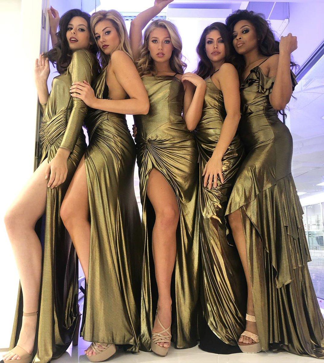Golden Goddesses ✨⭐ #JOVANI #Prom2020  Shop metallic dresses ➡️ https://t.co/SRsJn18ZQ8 https://t.co/F9vz4y9fA2
