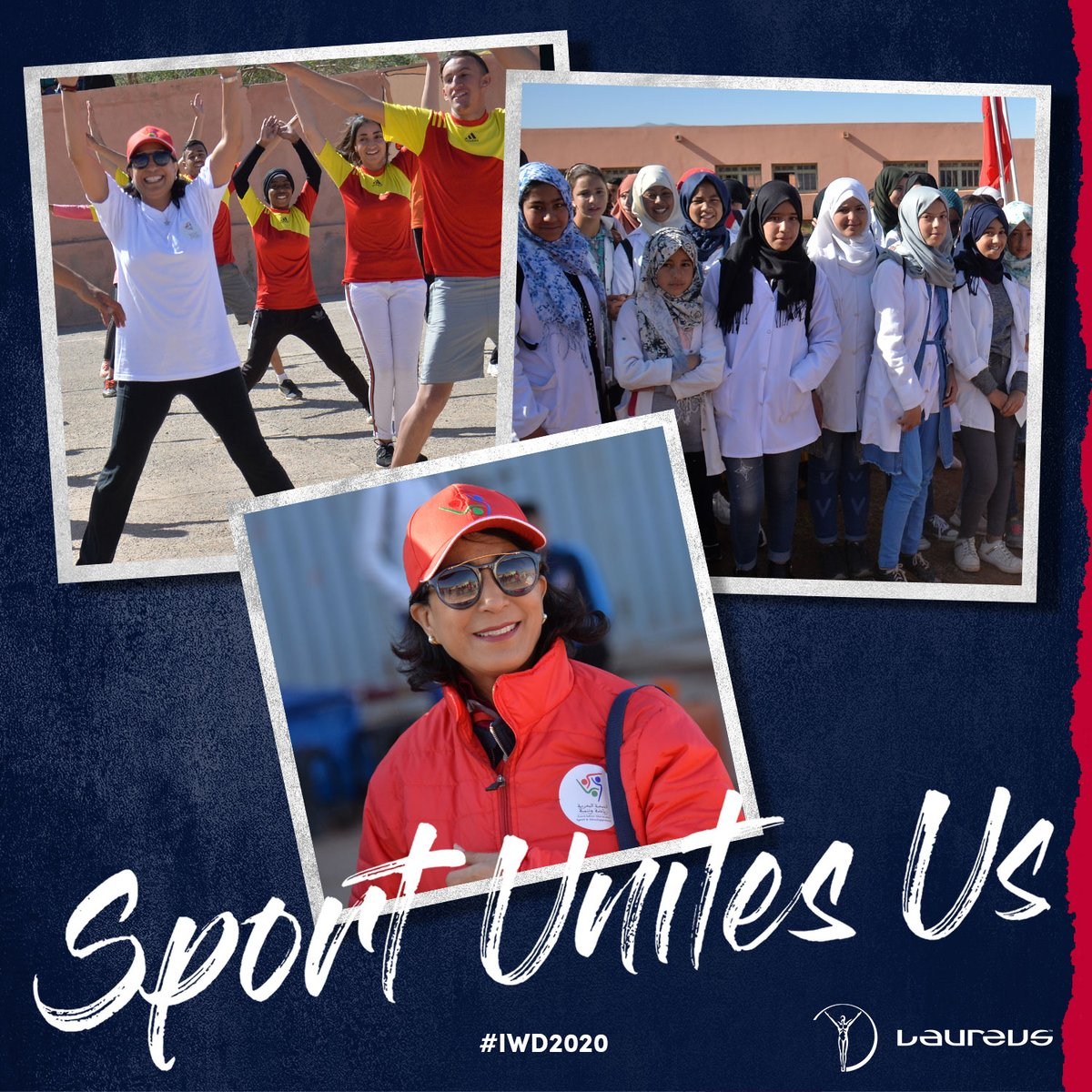 Laureus Academy Member Nawal El Moutawakel joined the President of the Moroccan Sports Development Association to lead a humanitarian caravan from Casablanca to isolated, underprivileged communities in the mountains of Morocco 🇲🇦  #SportUnitesUs #IWD2020