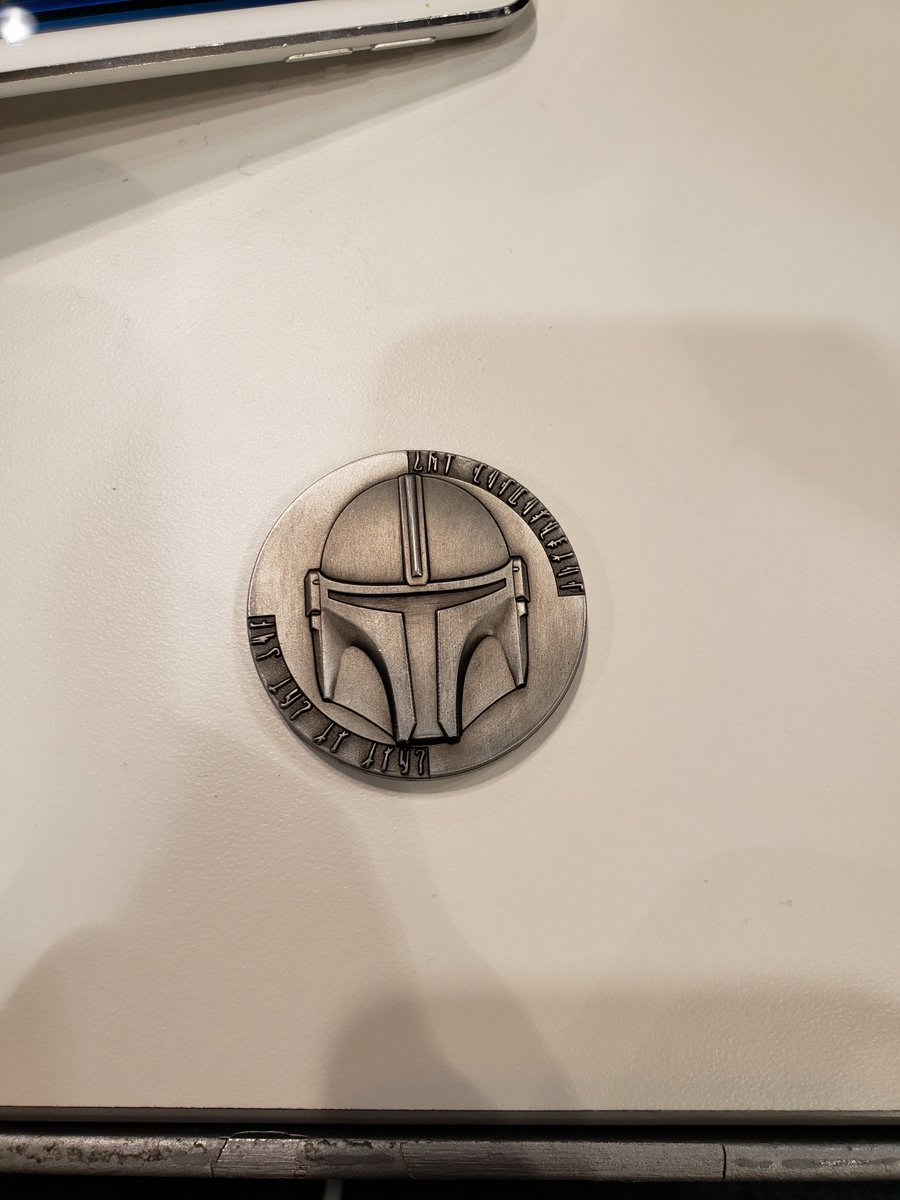 @SWTheory66 hi how is it going my name is Brandon and I have a question for u I was at star wars celebration last year on a sunday while I was there I was handed this by a random person and was wondering if u got something like this too