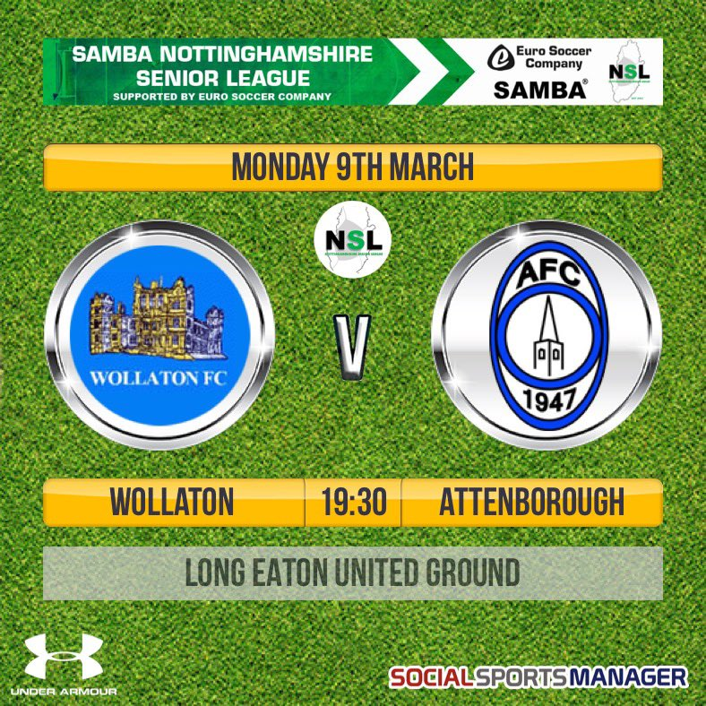 Tonight our 1st are back in action at long Eaton when they will take on @Borough1947 in a 7:30 kick off. #cmonyousugarbags #UTWpic.twitter.com/E6pZ0Le7zU