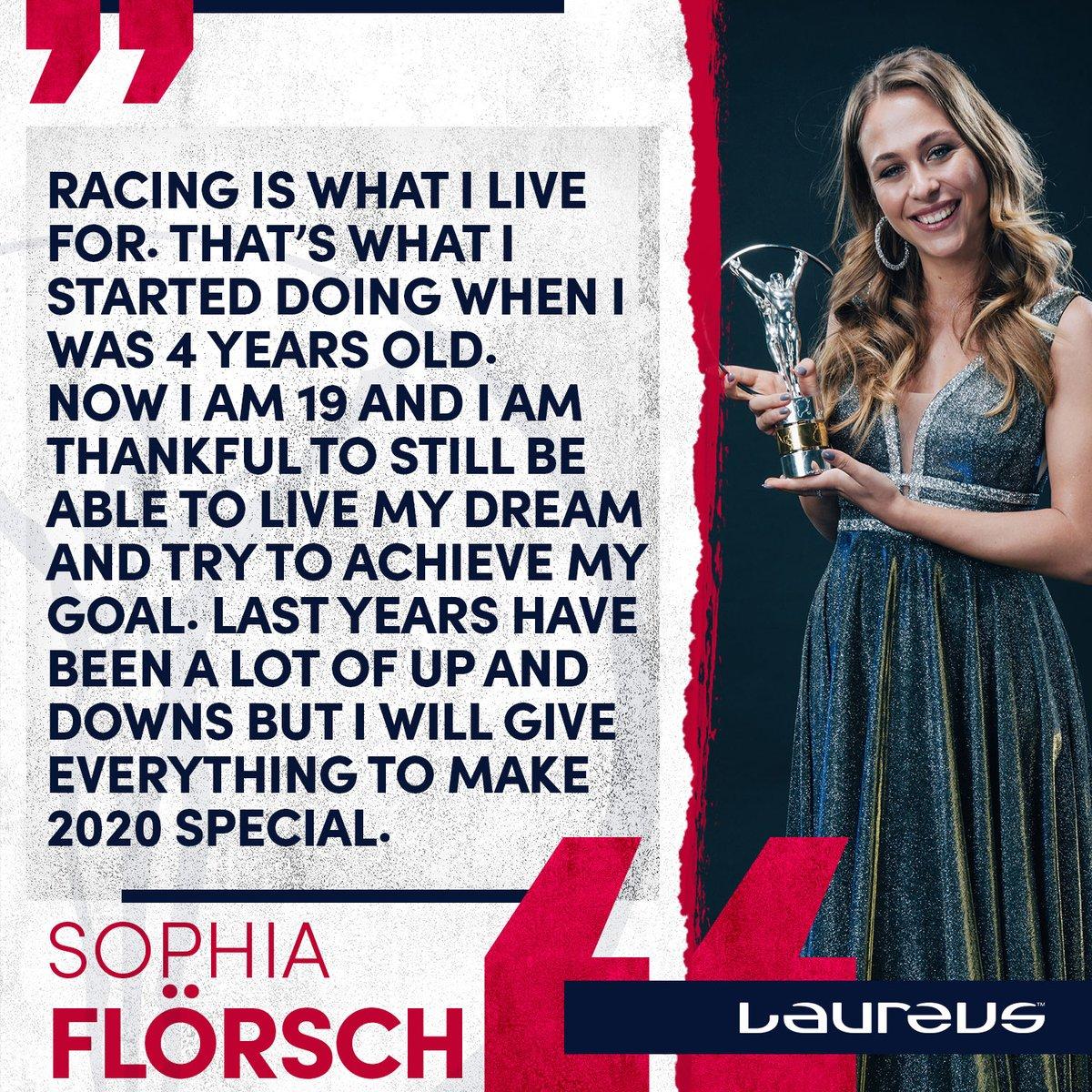#FridayMotivation courtesy of your Laureus World Comeback of the Year, @SophiaFloersch 💪