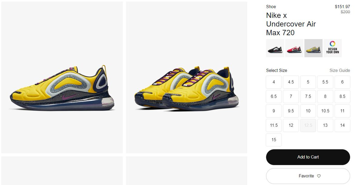 Ballin Sneaks On Twitter Nike Air Max 720 Undercover Bright