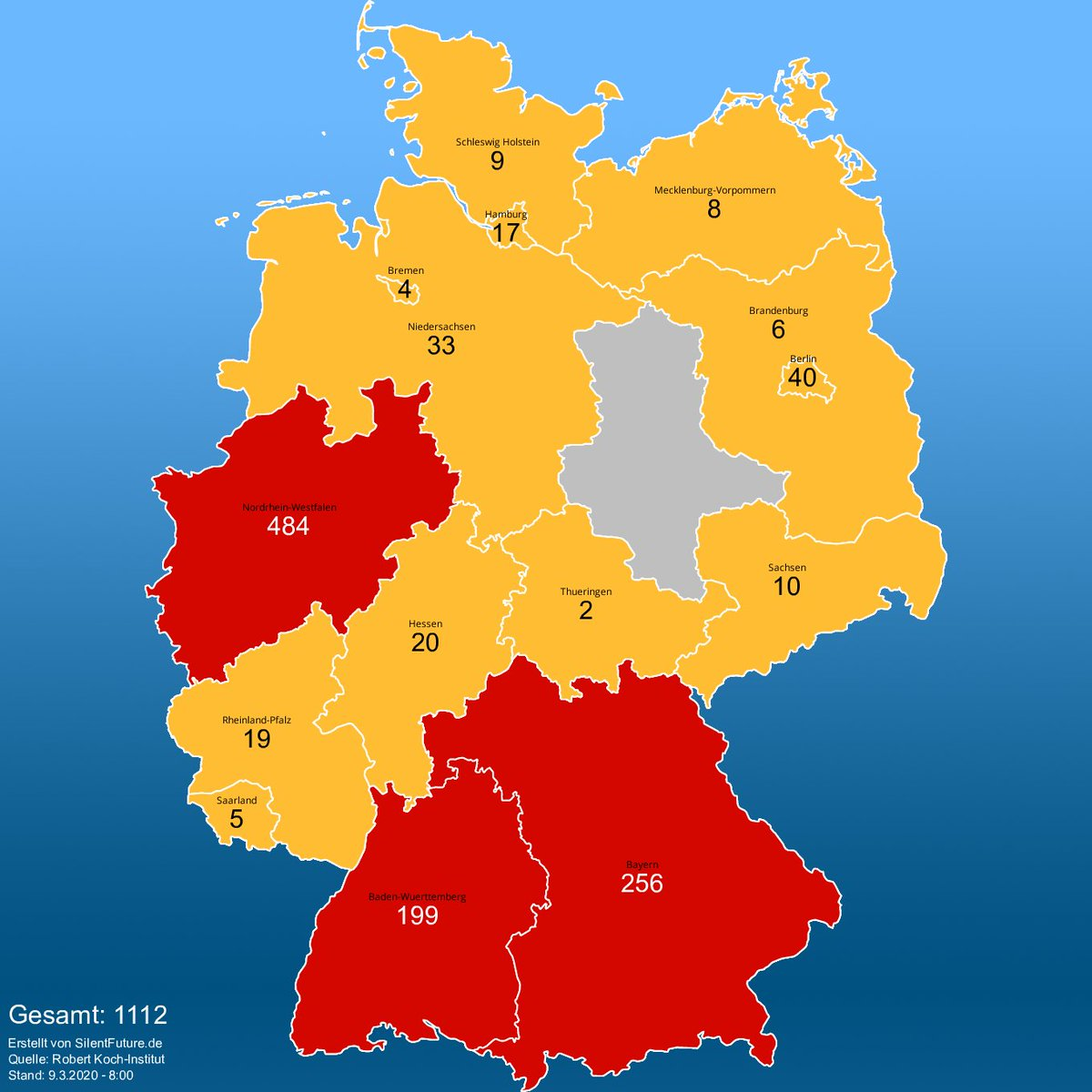 Corona Watch Deutschland On Twitter Coronavirus Karte Von