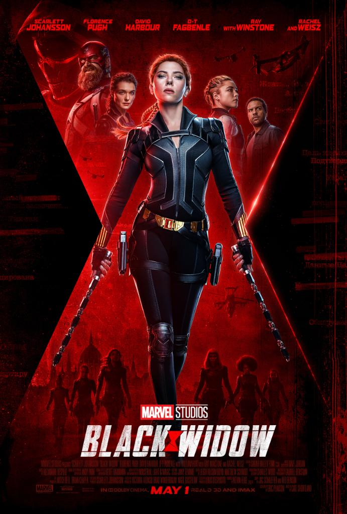 Heres your look at the new poster for Marvel Studios #BlackWidow! See it in theaters May 1.