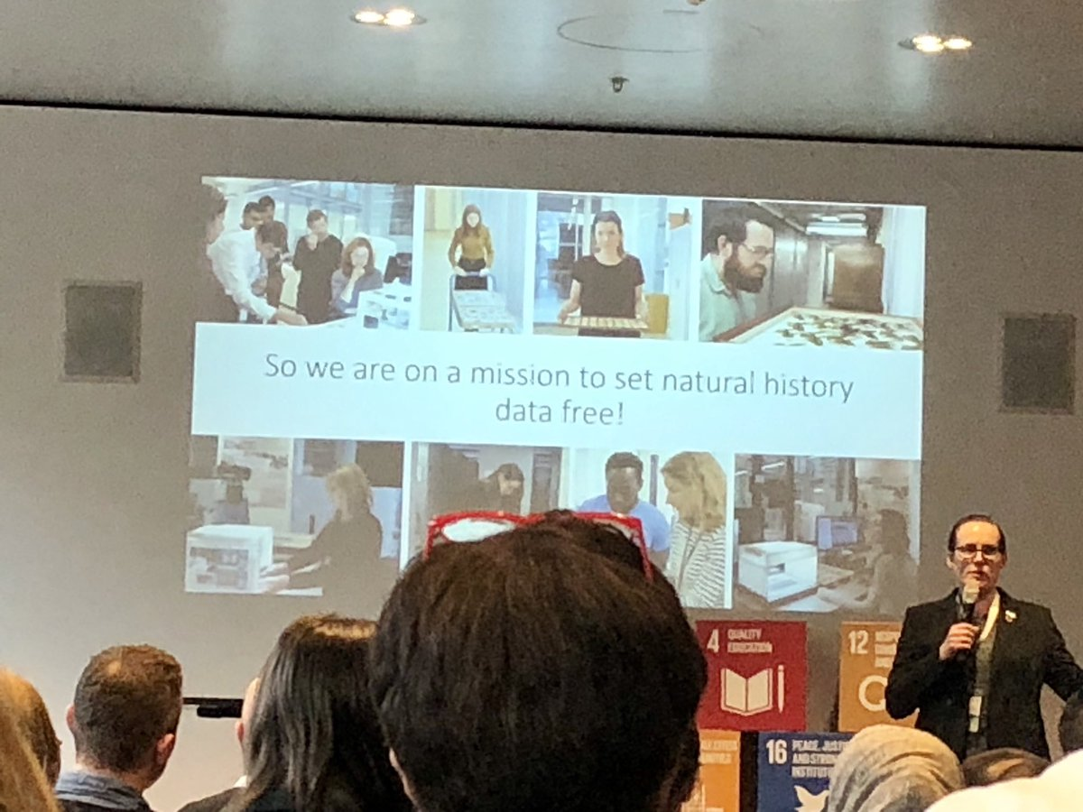 test Twitter Media - ⁦@NHM_London⁩ pitching about #open #digital #collection #openscience at #WSAVienna #SDGs https://t.co/P6atZb62Zt