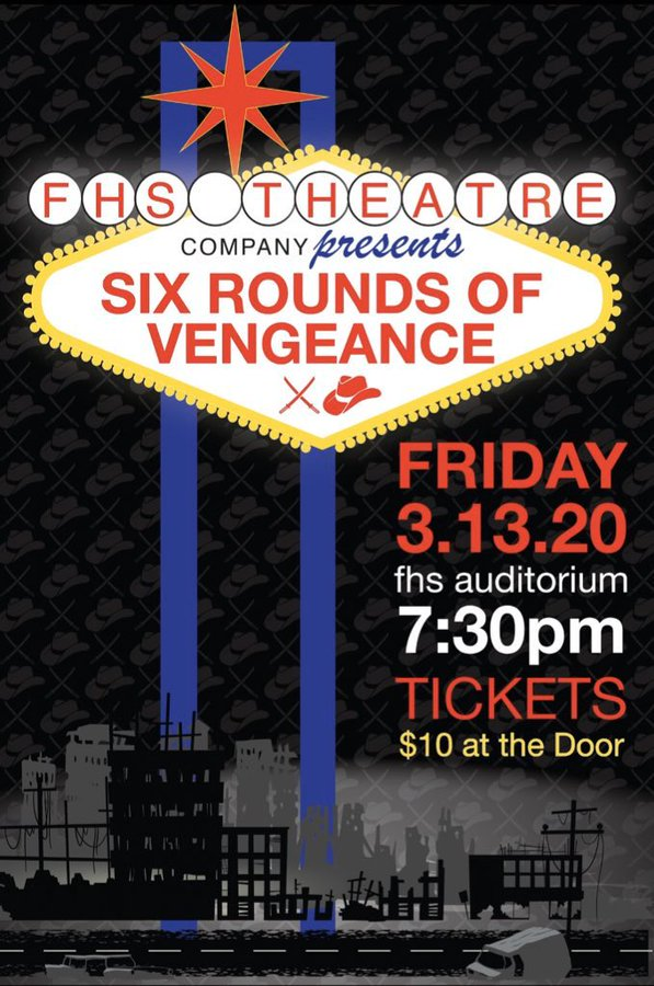 Six Rounds of Vengeance returns to FHS on 3/13