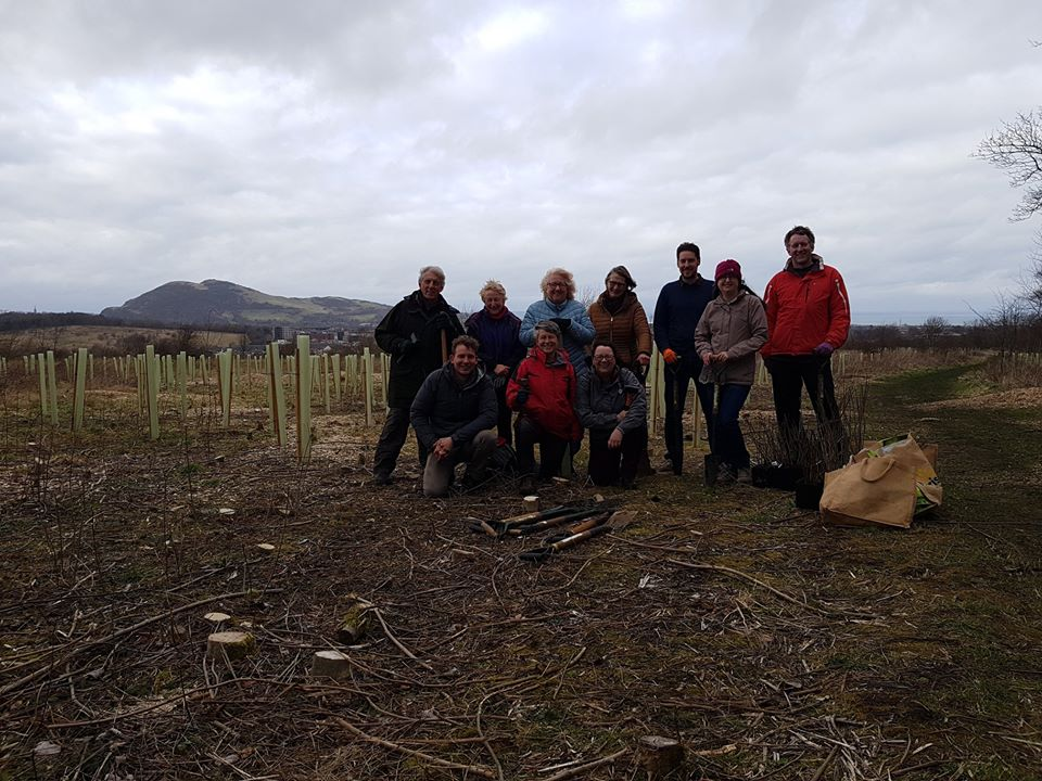 A big thank you to the Friends of Little France Park and everyone else who came to our tree planting event over the weekend. @TreesforCities @EdinOutdoors @EdinWildlife #milliontreecity #Edinbioversity2020
