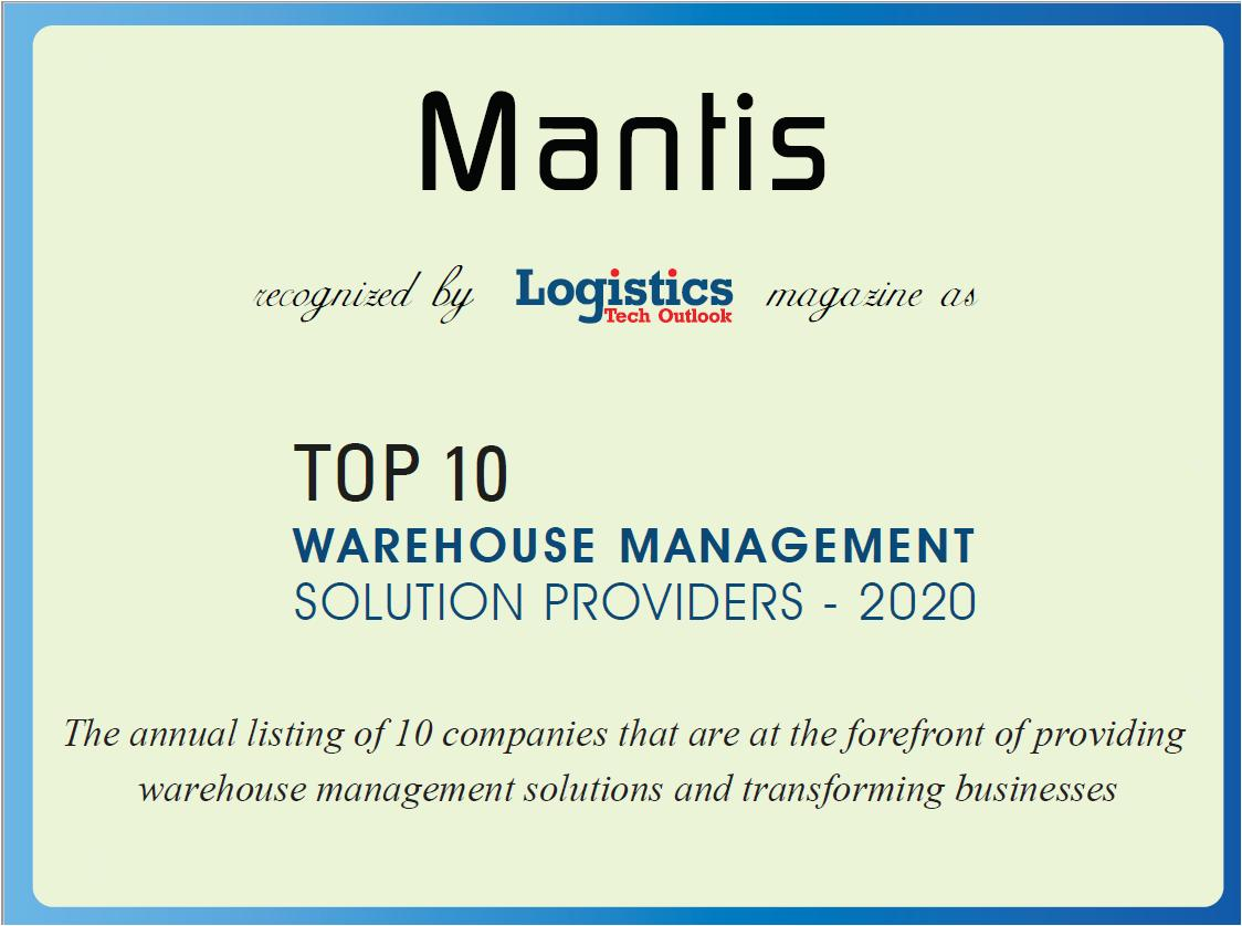 """We are proud for our #recognition as """"Top 10 Warehouse Management Solutions Providers 2020"""" from Logistics Tech Outlook @LogisticsTO https://t.co/ZSm94ouEuX #warehousemanagementsolutions #logisticsvisionsuite https://t.co/1pB6tdm1wW"""