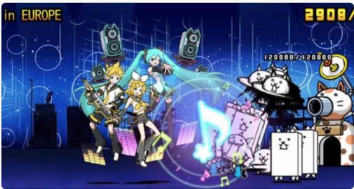 にゃんこ大戦争: 初音ミクコラボステージ「MIKU EXPO」を無課金編成で攻略!!!!#にゃんこ大戦争 #にゃんこ#初音ミク