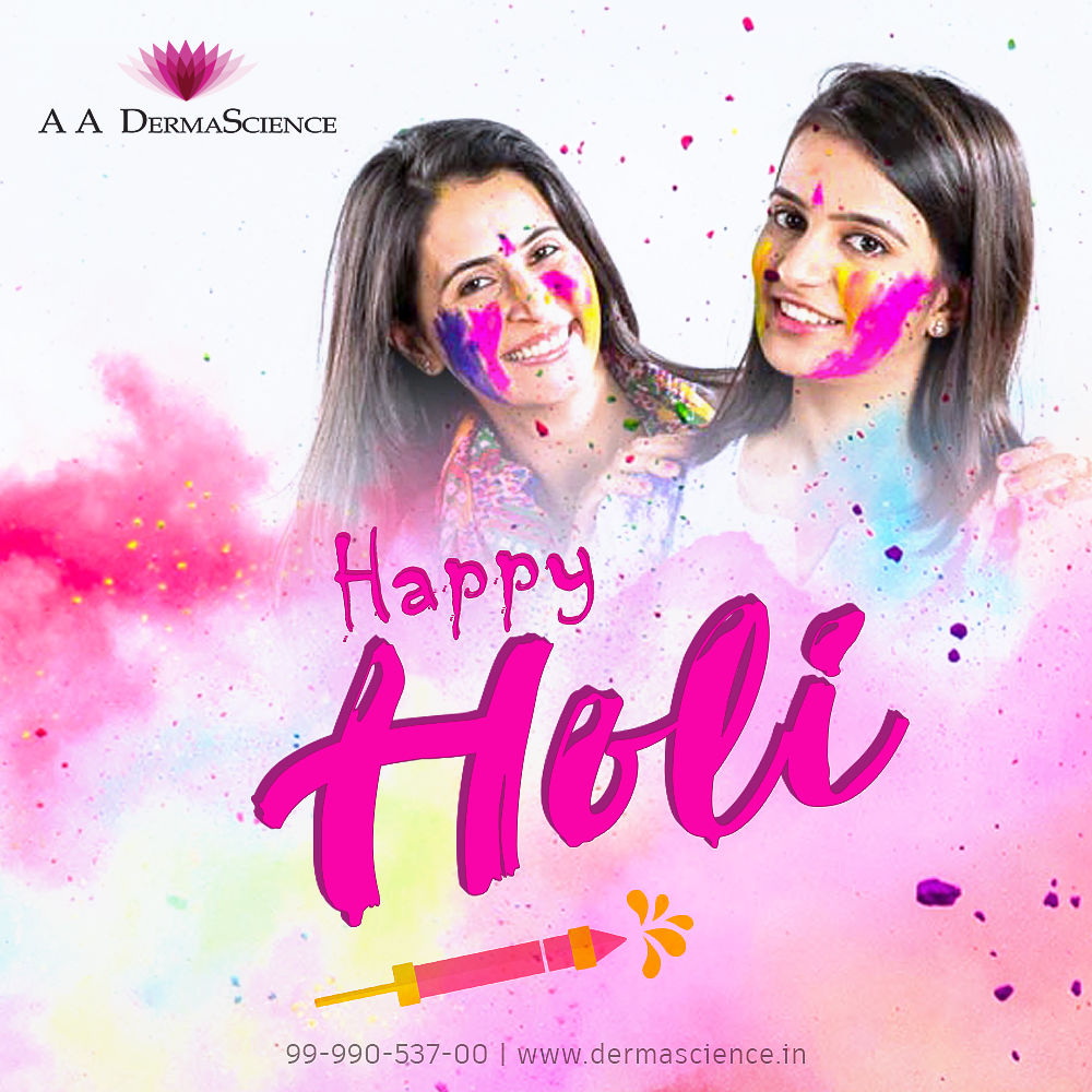 HOLI - SKIN TIPS  Holi! A favorite for a lot of us. Vibrant colors, amazing food, dancing and lots more. At the end of the day, our skin and hair does take a toll. Perhaps a little precaution goes a long way. #Holi #happyHoli #holiday #holidaymakeup #holidaypartypic.twitter.com/ZerxpP5mlY