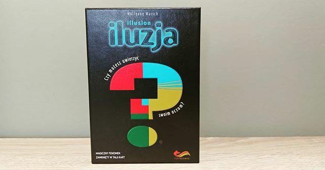 Taka gra wpadła nam od @foxgames.pl Szybciutka I zmyślna. Niedługo słów kilka o iluzji. #iluzja #graplanszowa https://ift.tt/3aCjPpOpic.twitter.com/ZZycmslC1n