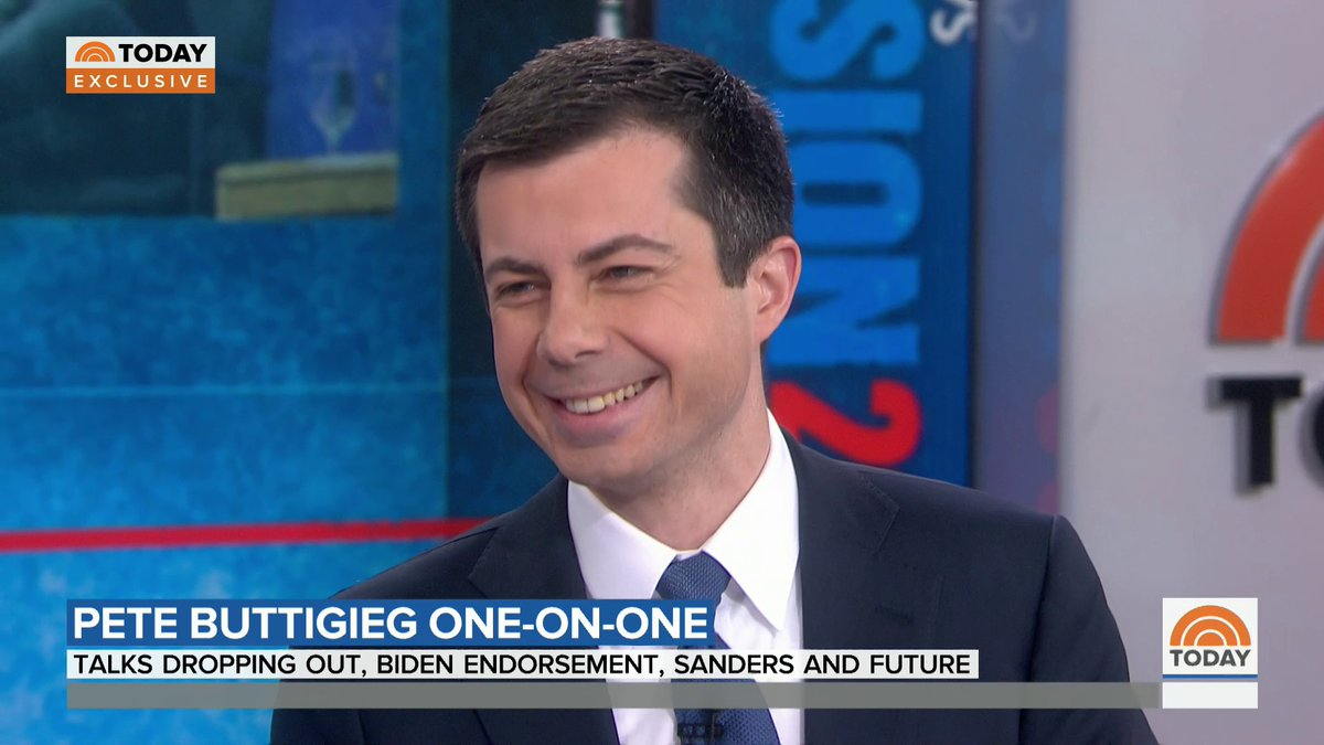 .@PeteButtigieg tells @craigmelvin what's next for him, including guest hosting a late-night show.