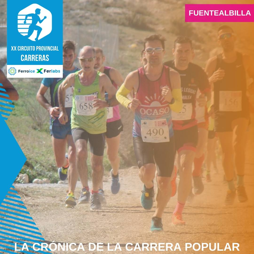 📌 Más de 900 atletas finalizaron la XII Carrera Popular de #Fuentealbilla, en una mañana primaveral donde se conmemoraba el Día Internacional de la Mujer.  ✅ Así fue la carrera. Consulta la crónica. 👉  👈