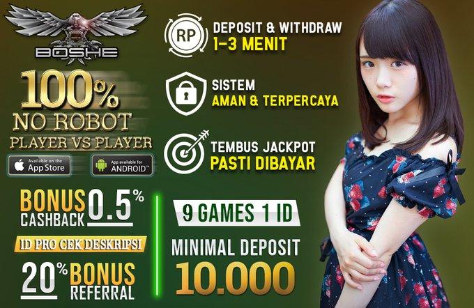 Agen Perang Baccarat games Terbaru PKV hanya di BoshePoker ESqjCrTU8AQa_1M?format=jpg&name=small
