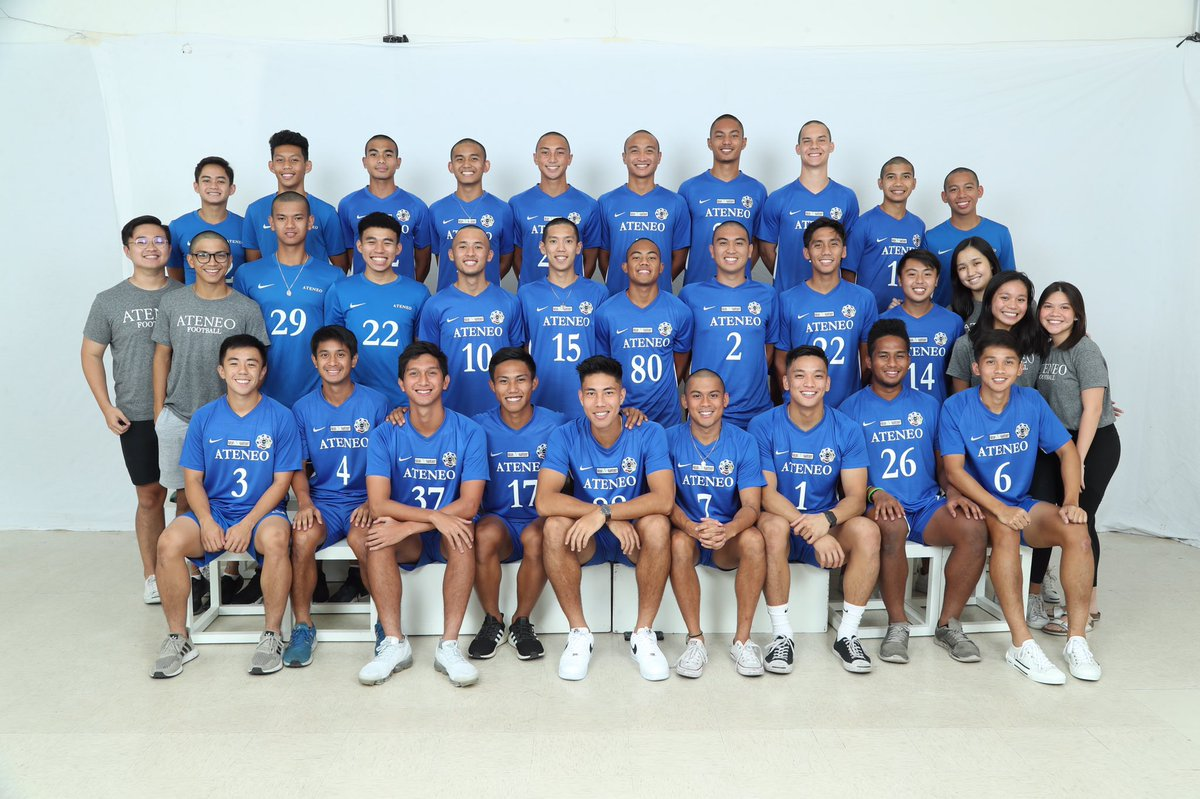 Here are a few photos of the Ateneo Men's Football Team during our AEGIS shoot for this school year! #OBF