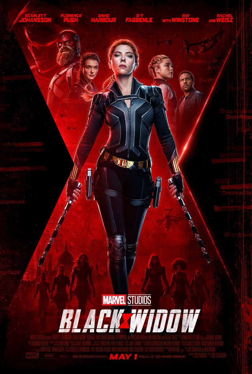 Black Widow (2020) - Final Poster