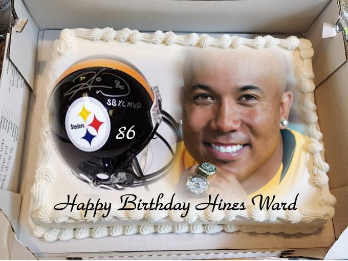 HAPPY BIRTHDAY TO THE AWESOME HINES WARD THE MAN THAT NEVER STOPS SMILING...LADY STEEL