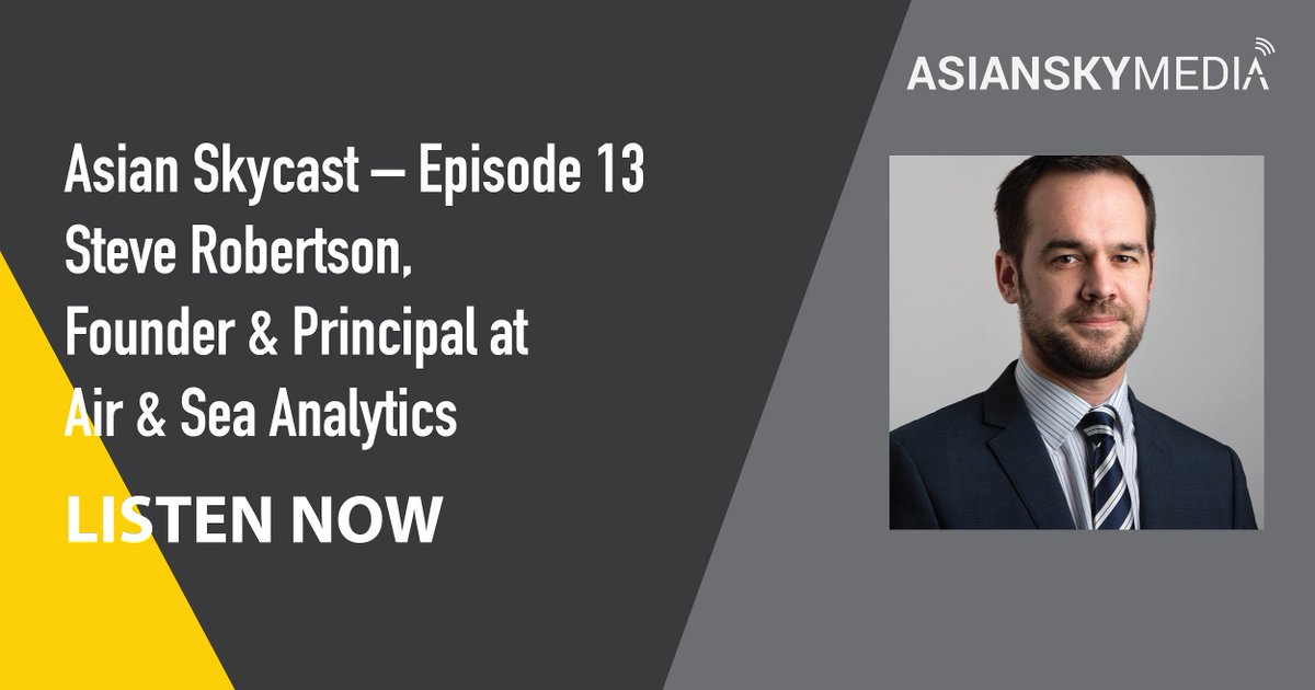 Asian Skycast Episode #13 now available: https://t.co/J73TzfTLWM  Steve Robertson of @AnalyticsAir Air & Sea Analytics, discussing the #offshore O&G #helicopter market, the wind farm industry, impacts from the Coronavirus and more.  #rotary #podcasts #aviation #AsianSkyMedia https://t.co/DiQYgM4njQ